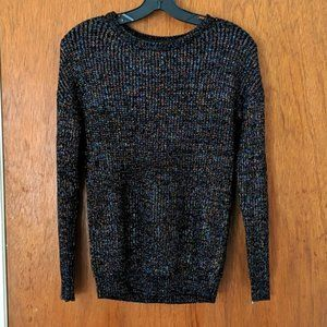 Philosophy Metallic Rainbow Knit Sweater
